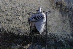 La sculpture Le Père Ubu de Maître Del'Aune (© Office de Tourisme du Pays de Laval)