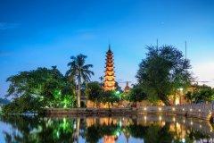 Pagode de Tran Quôc à Hanoï. (© trocphunc)