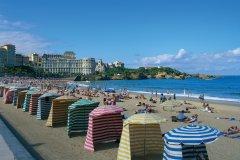 Plage de Biarritz (© Antony ROYER - Fotolia)