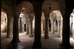 L'intérieur de la rotonde de l'an mil. (© CATHÉDRALE SAINT-BÉNIGNE)