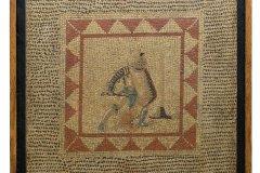 Mosaique au gladiateur. (© B. Mahuet, Musées de Mâcon)