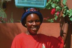 Portrait d'une habitante de Saly-Portudal. (© Author's Image)