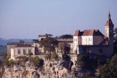 Le château de Rocamadour (© DENIS VANDEWALLE)