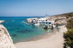 Plage sur l'île de Milos. (© FilippoBacci)