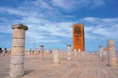 Tour Hassan, minaret de la mosquée de Yacoub el-Mansour. (© Author's Image)