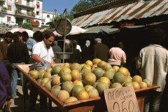 Le marché de Corfou Chora. (© Author's Image)