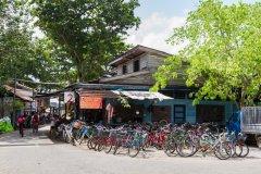 Le vélo est le mode de transport principal de l'île de Palau Ubin. (© sljones - Shutterstock.com)