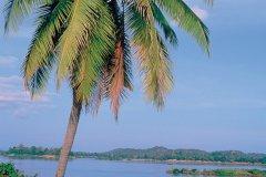 Le Mékong déroulant son long fleuve tranquille à Si Phan Don. (© Eric Martin - Iconotec)