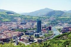 Bilbao et sa tour Iberdrola. (© David Crespo Nieto)