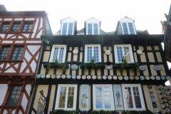 Vieilles maisons du centre de Quimper (© Fortuné PELLICANO)