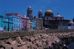 Cathédrale de Cadix et église Santa Cruz. (© Author's Image)