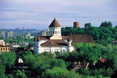 Cathédrale orthodoxe de l'Assomption de Vilnius. (© S.Nicolas - Iconotec)