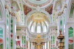 Intérieur de l'église des Jésuites de Mannheim. (© Mikhail Markovskiy - iStockphoto)