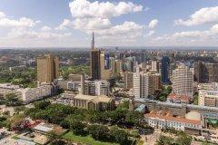Vue de la ville de Nairobi. (© derejeb)