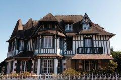 Maison traditionnelle de Deauville. (© Julien Hardy - Author's Image)