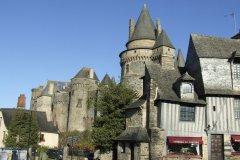 Le château de Vitré. (© Laëtitia STEIMETZ)