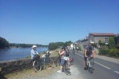 Fête du vélo La Divatte Saint Julien de Concelles 07-06-2015. (© Sophie KESRAOUI)