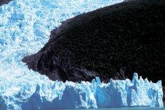 Glacier en Patagonie. (© H.Fougère - Iconotec)