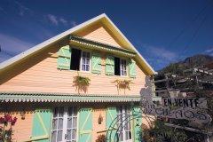 Maison créole du centre ville de Cilaos. (© Author's Image)