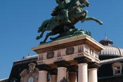 La statue de Vercingétorix sur la place de Jaude (© Julien Hardy - Author's Image)