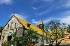 Eglise de terre de Haut. (© Gilles MOREL)