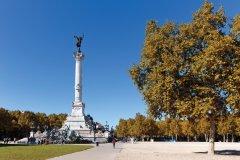 Bordeaux - place des quinconces Monument des Girondins. (© Agence Photo Création Ch. VIAUD)