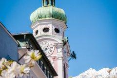 Clocher d'une église d'Innsbruck. (© Mila Drumeva - Shutterstock.com)