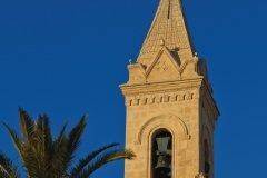 Le clocher de l'église Saint-Nazaire de Sanary-sur-Mer (© Lawrence BANAHAN - Author's Image)