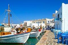 Le port de Naousa. (© Ermoupolis - Shutterstock.com)