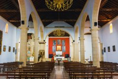 Intérieur de l'église de La Oliva, Fuerteventura. (© Dziewul - Shutterstock.com)