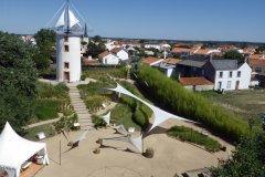 Jardin du Vent vue aérienne (© Garder le Kap)