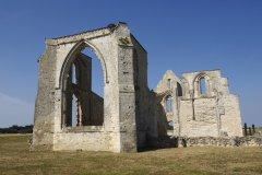L'abbaye des Châteliers à La Flotte (© Bluesky6867 - Fotolia)