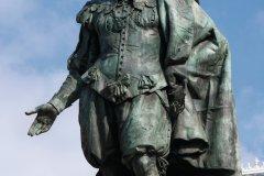 Statue de Rubens trônant au centre de la Groenplaats. (© Author's Image)