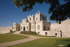 Le château d'Hardelot abrite le Centre culturel de l'Entente cordiale (© Olivier LECLERCQ)