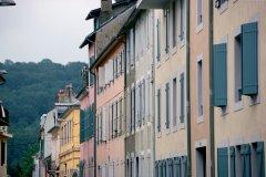 Façades au coeur de Bagnères-de-Bigorre (© PHOVOIR)