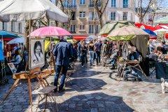 La place du Tertre, au coeur de Montmartre. (© Kiev.Victor - Shutterstock.com)