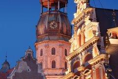 Eglise Saint-Pierre de Riga. (© Nikonaft)
