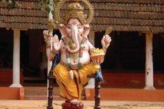 Ganesh accueille les visiteurs de Guruvayur. (© Nityajacob - iStockphoto)