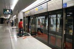 Station Esplanade sur la ligne de métro Circle Line (© Stéphan SZEREMETA)