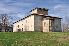 Basilique de San Prudencio de Armentia, dans la périphérie de Vitoria. (© Alce - Fotolia)