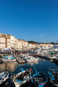 Le port de Saint Tropez.
