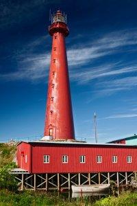 Le phare d'Andenes.