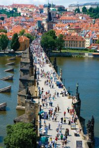 Le Pont Charles, symbole le plus connu de Prague.