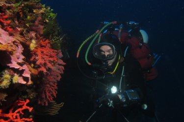 Pêcheur de corail à Bonifacio. (© la boutique du corailleur)