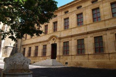 Façade du musée Granet d'Aix-en-Provence. (© JC Carbonne)