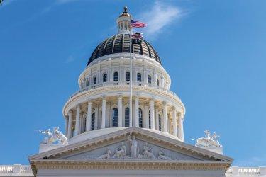 Capitole de l'État de Californie. (© Spondylolithesis - iStockphoto)