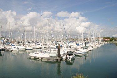 Le port des Minimes (© CMT17 - B. DESMIER)