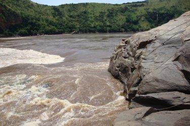 Le site du rocher de Diogo Cao près de Palabala (© Ph. Wyvekens)