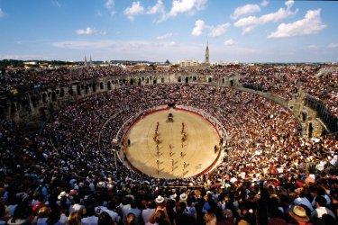 Les arènes de Nîmes. (© V. Formica / Culturespaces)