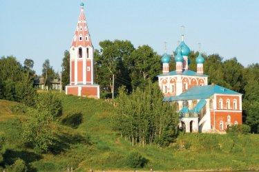 Église de la Transfiguration de la Vierge de Kazan à Toutaïev. (© Stéphan SZEREMETA)
